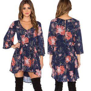 Free People Eyes on You Printed Floral Dress 2